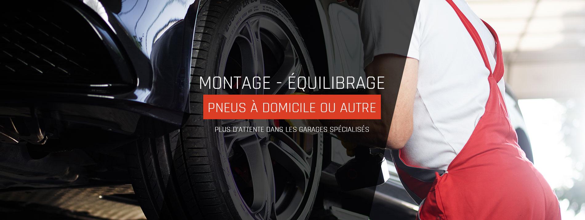 Montage pneus à domicile Tours, Vendôme et Château-Renault - R